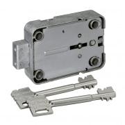 Tresorschloss 71111, 3 Gelenk-Schlüssel, 180 mm