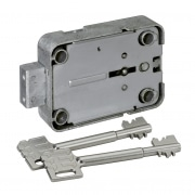 Tresorschloss 71111, 2 Schlüssel, 160 mm