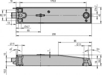 Mietfachschloss mechanisch Nr. 4.19.4496.3