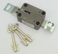 Tresorschloss Euro-Novum Nr. 2376, 3 Schlüssel