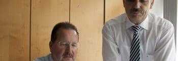 Rainer Schleiting und Peter Krebs übernehmen die EGF